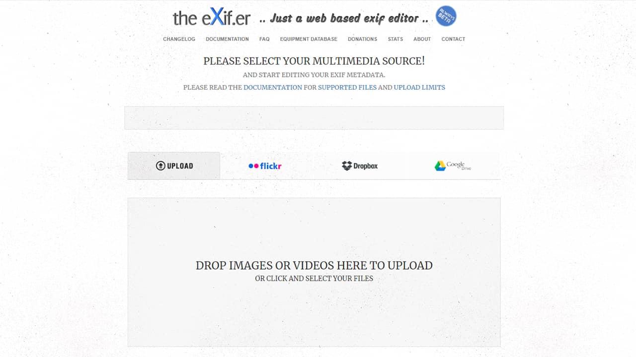 The Exifer : modifier les balises EXIF de vos photos