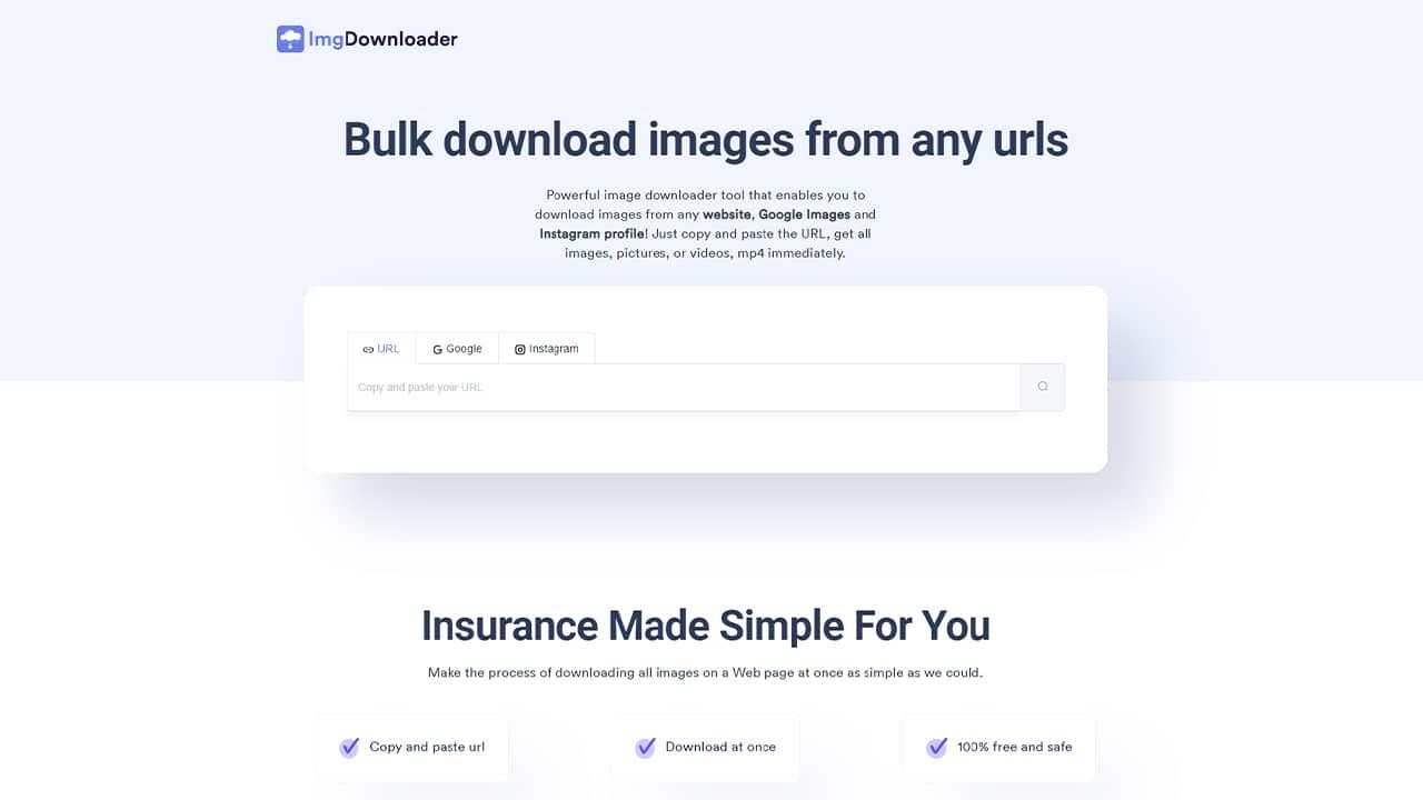 Télécharger toutes les images du Web avec ImgDownloader