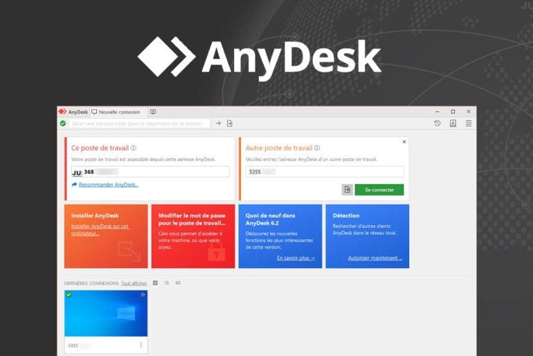 AnyDesk : contrôler un ordinateur à distance
