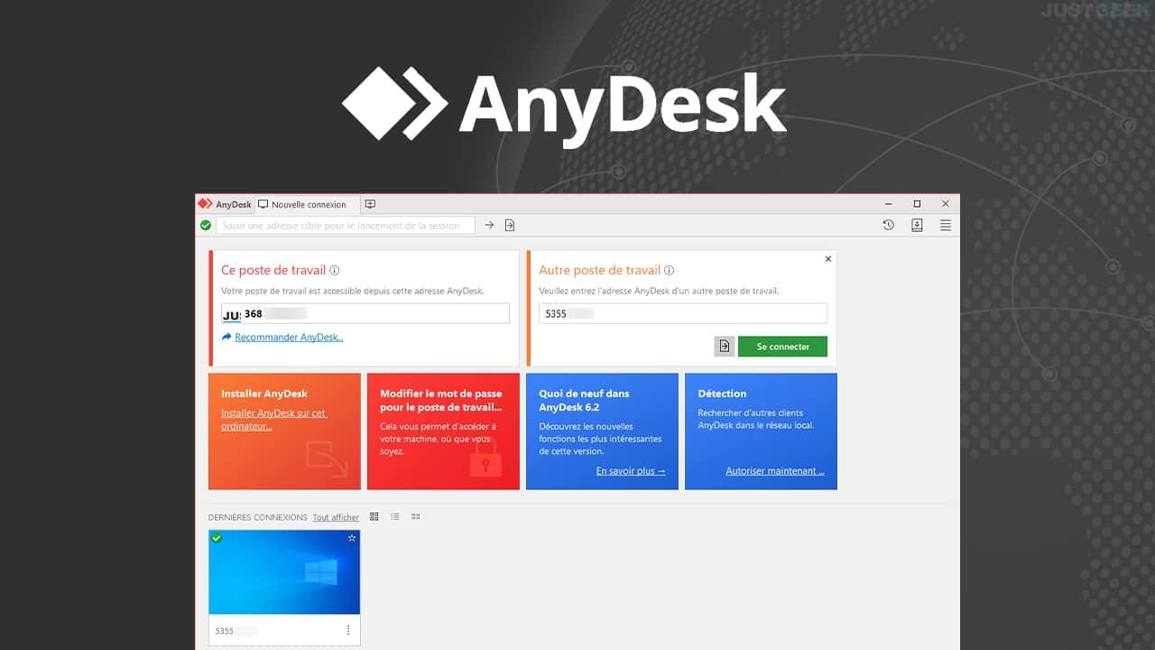 AnyDesk : logiciel bureau à distance gratuit