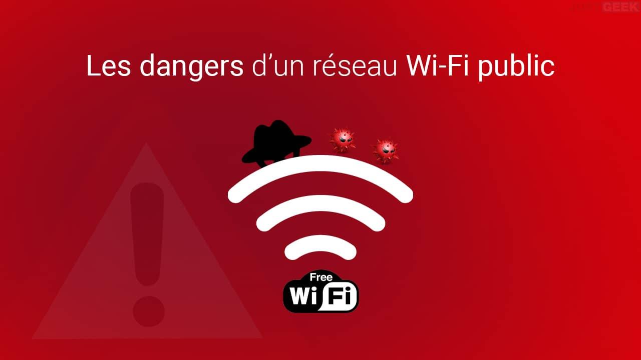 Les dangers d'un réseau Wi-Fi public