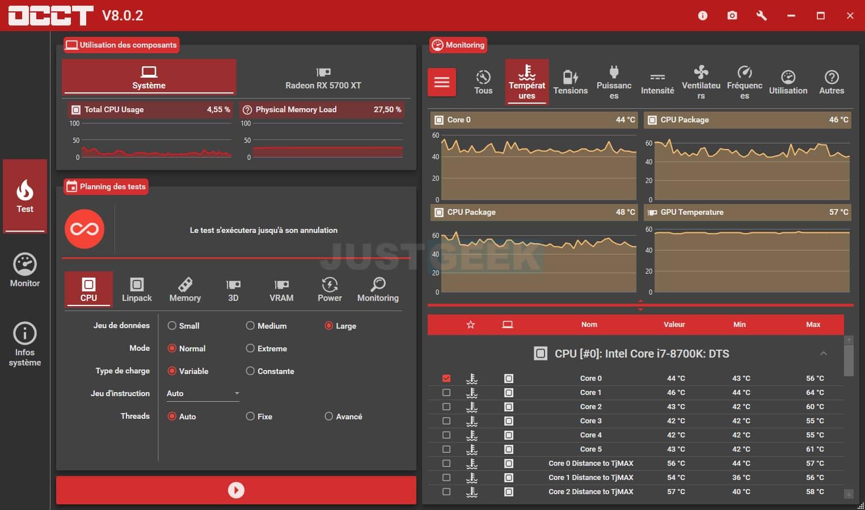 Vérifier la stabilité de votre ordinateur avec OCCT