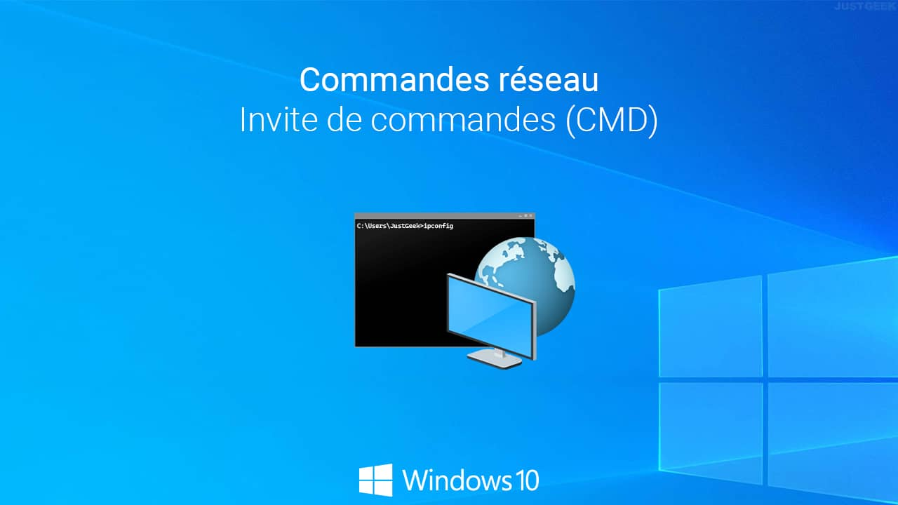 Commandes réseau Windows 10
