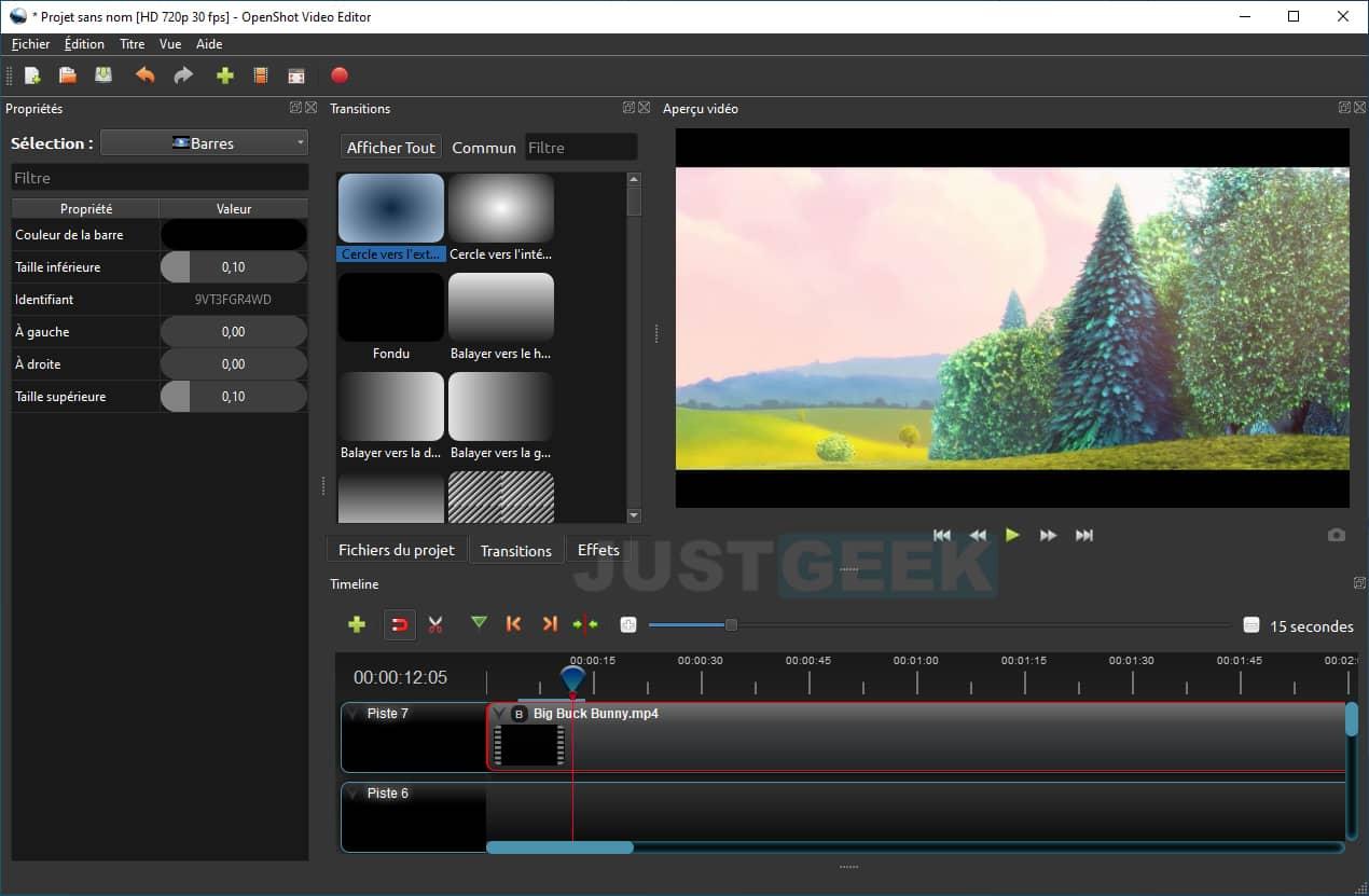 OpenShot Video Editor : un éditeur vidéo gratuit