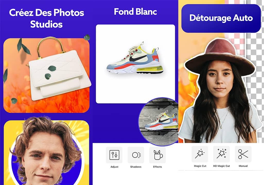 Détourer une photo avec l'application mobile PhotoRoom