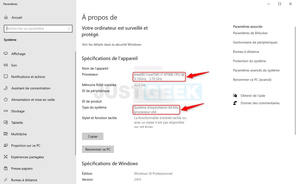 Windows 11 : vérifier si le processeur (CPU) de votre PC est compatible