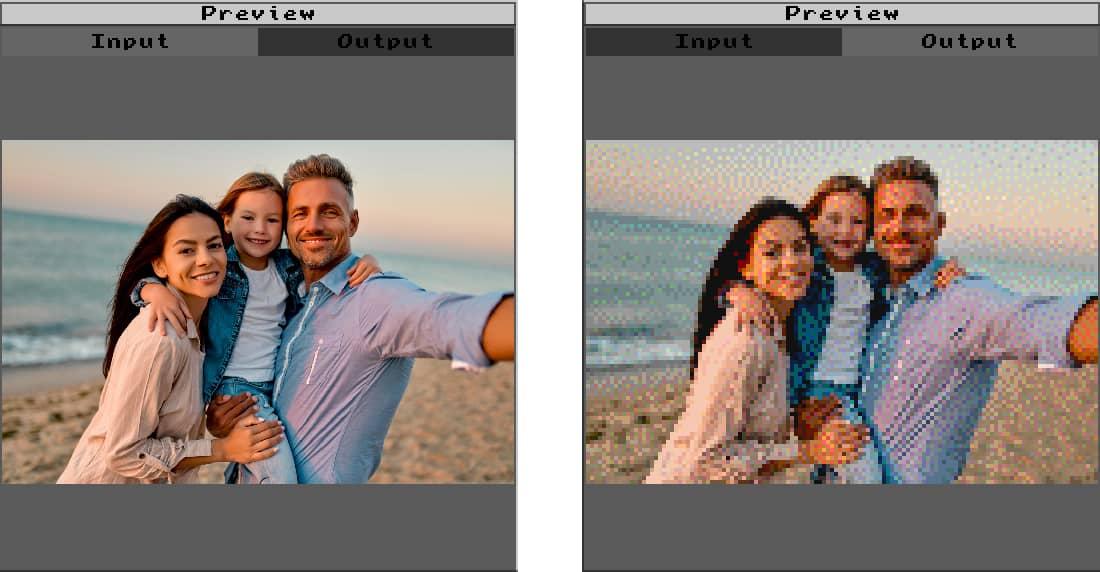 Convertir image en pixel art