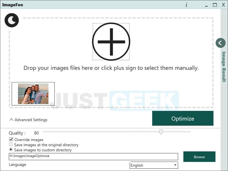 Compresser des images/photos avec ImageFoo, un logiciel gratuit