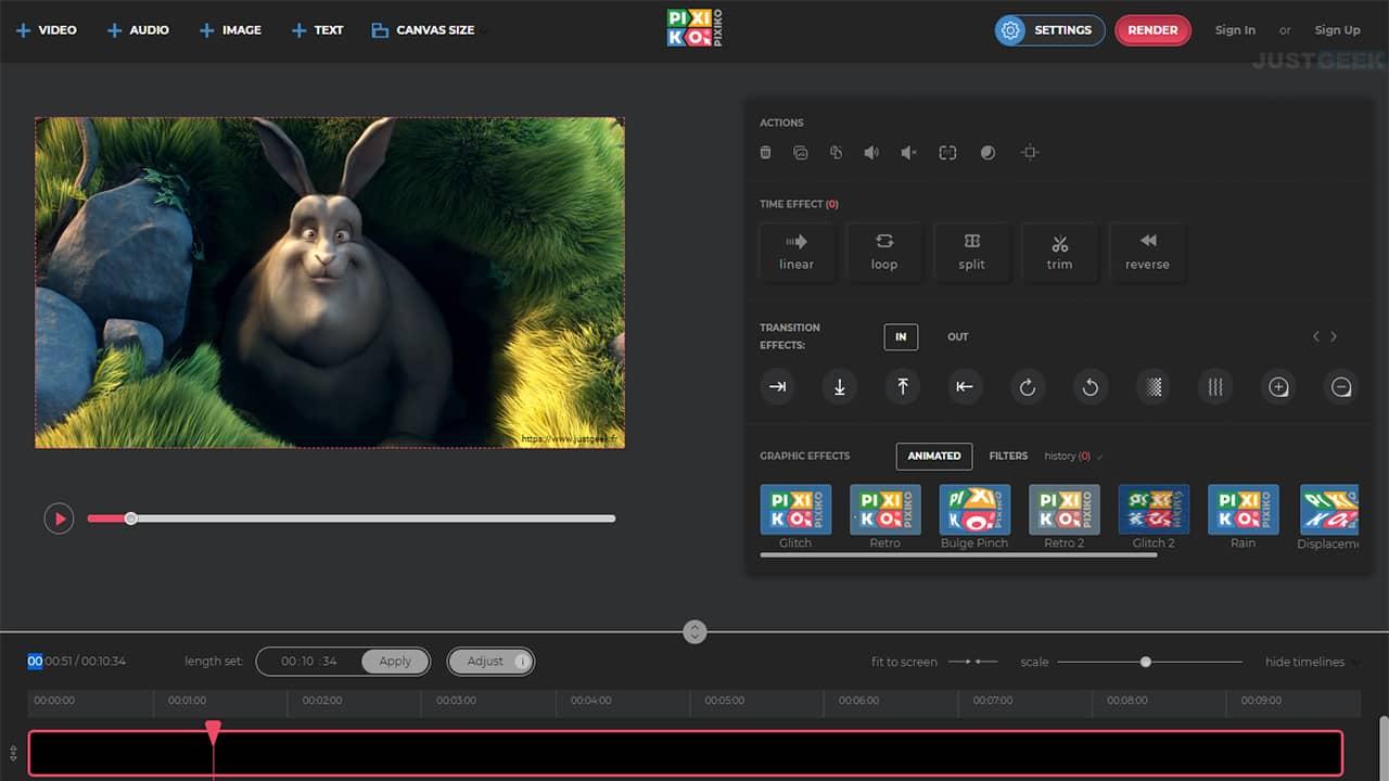 Éditer une vidéo en ligne gratuitement avec Pixiko