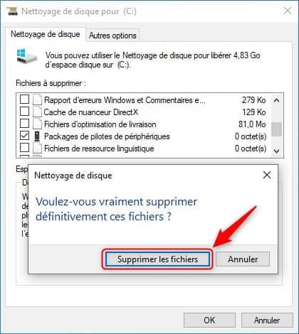 Supprimer les packages de pilotes de périphériques dans Windows 10