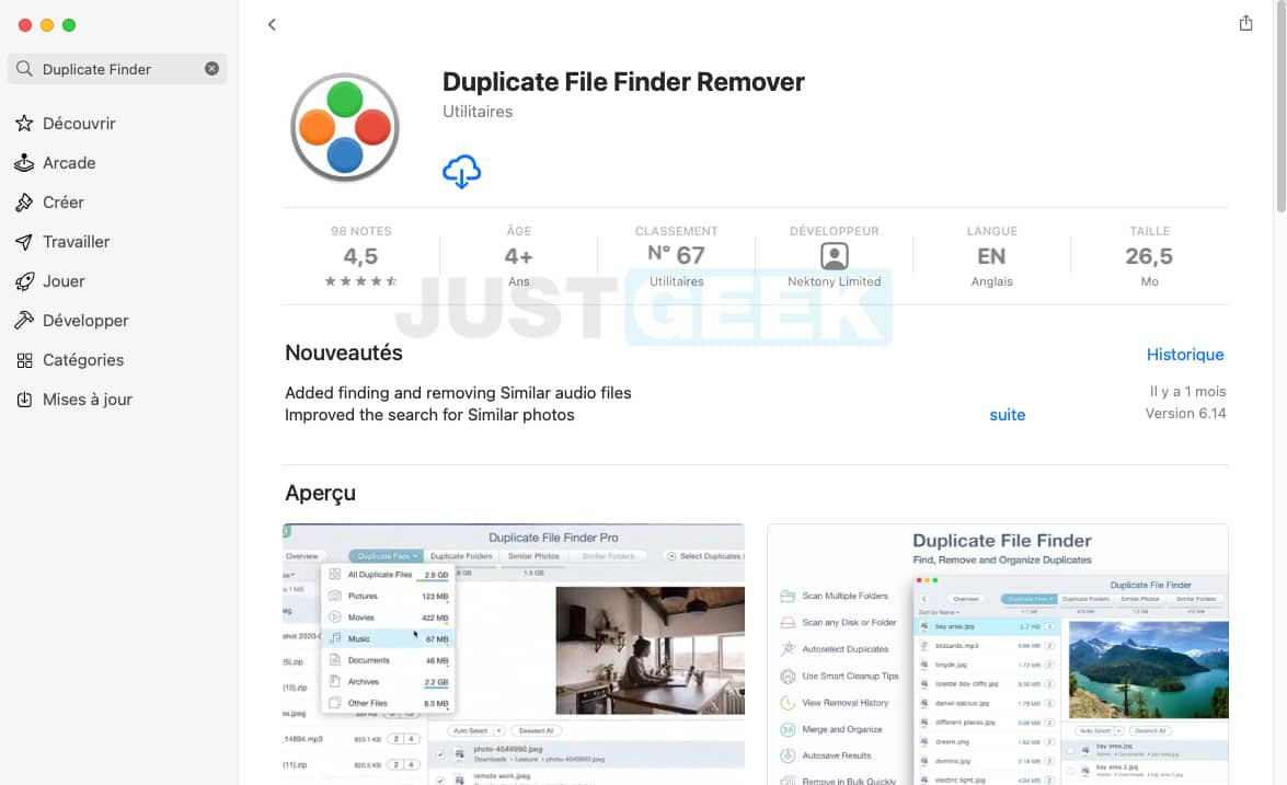 Duplicate File Finder Remover App Store