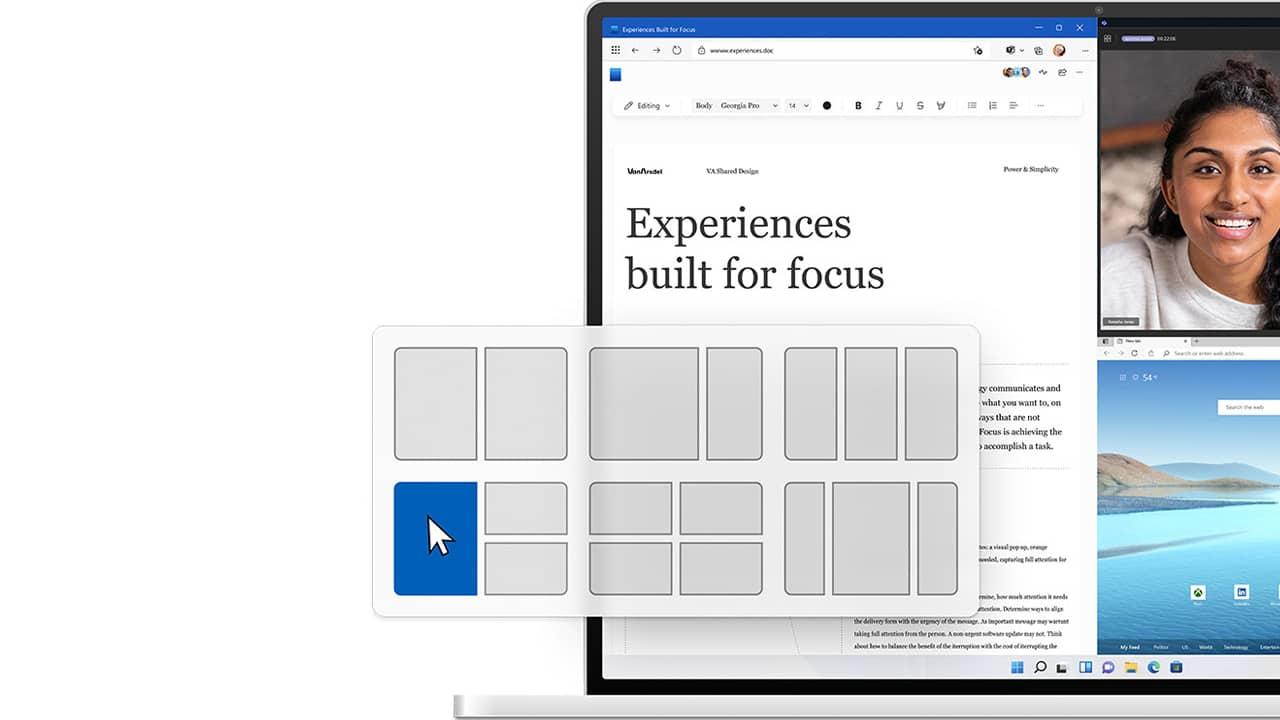 Gestion des fenêtres dans Windows 11