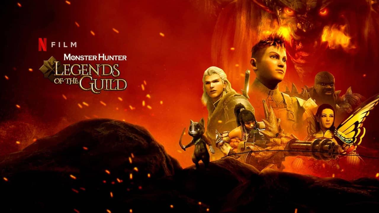Bande annonce Monster Hunter : Legends of the Guild Netflix