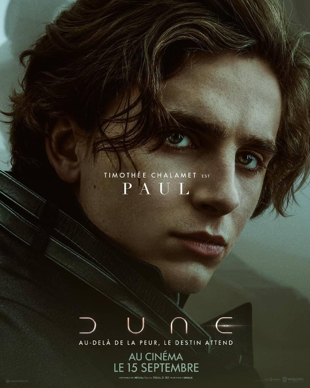 Dune : affiche du film France
