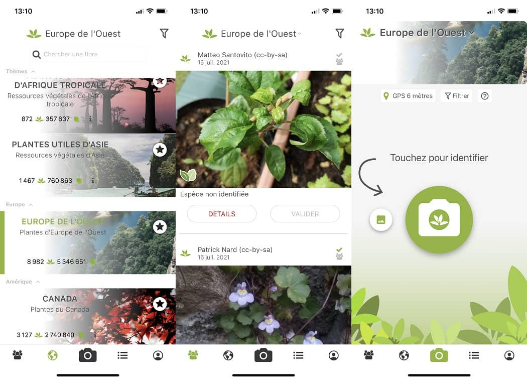Application PlantNet