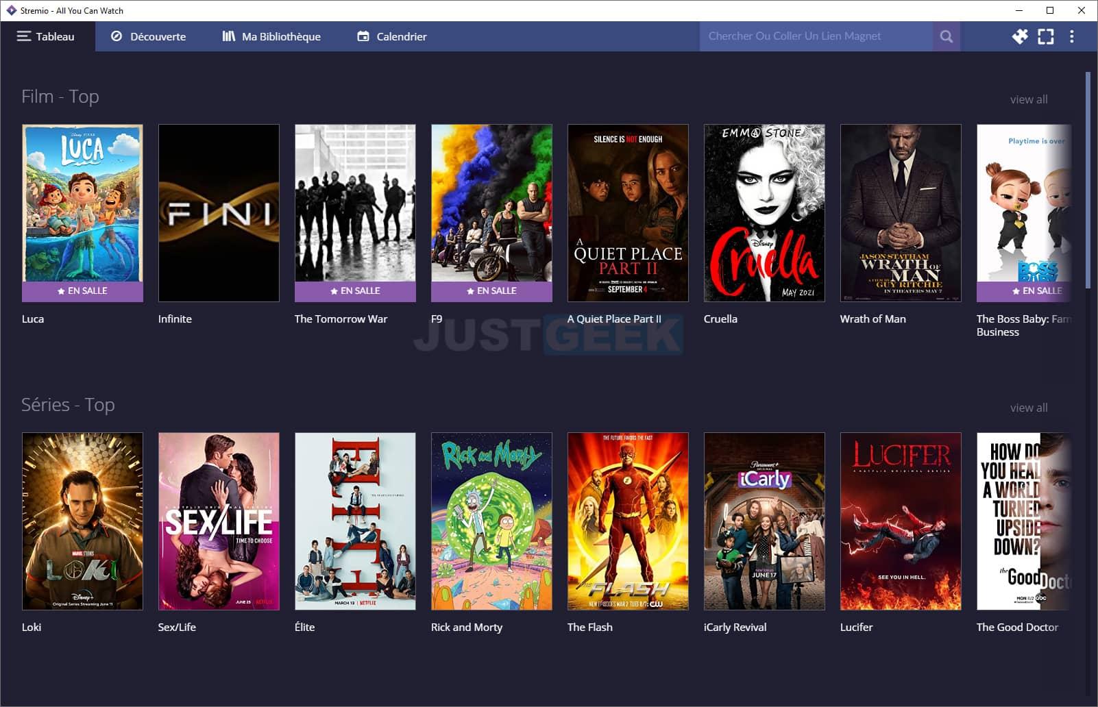 Stremio : regarder un film ou une série en streaming gratuit