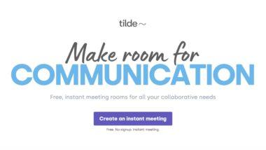 Tidle : réunion en ligne gratuite