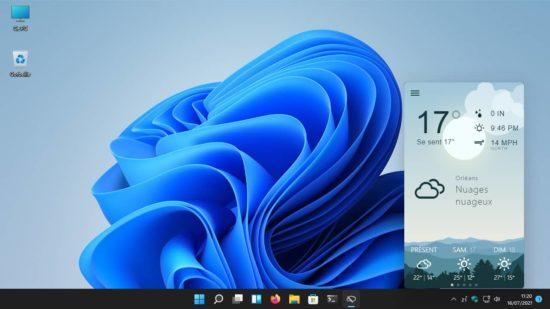 Weather Bar : application météo pour Windows, macOS et Linux