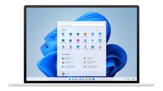 Windows 11 sur PC portable