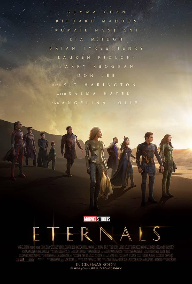 Affiche du film Les Éternels