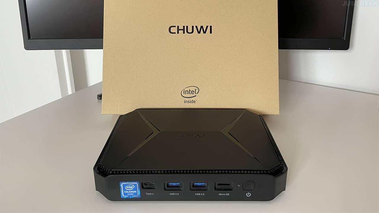 Photo du mini PC Chuwi Herobox Pro
