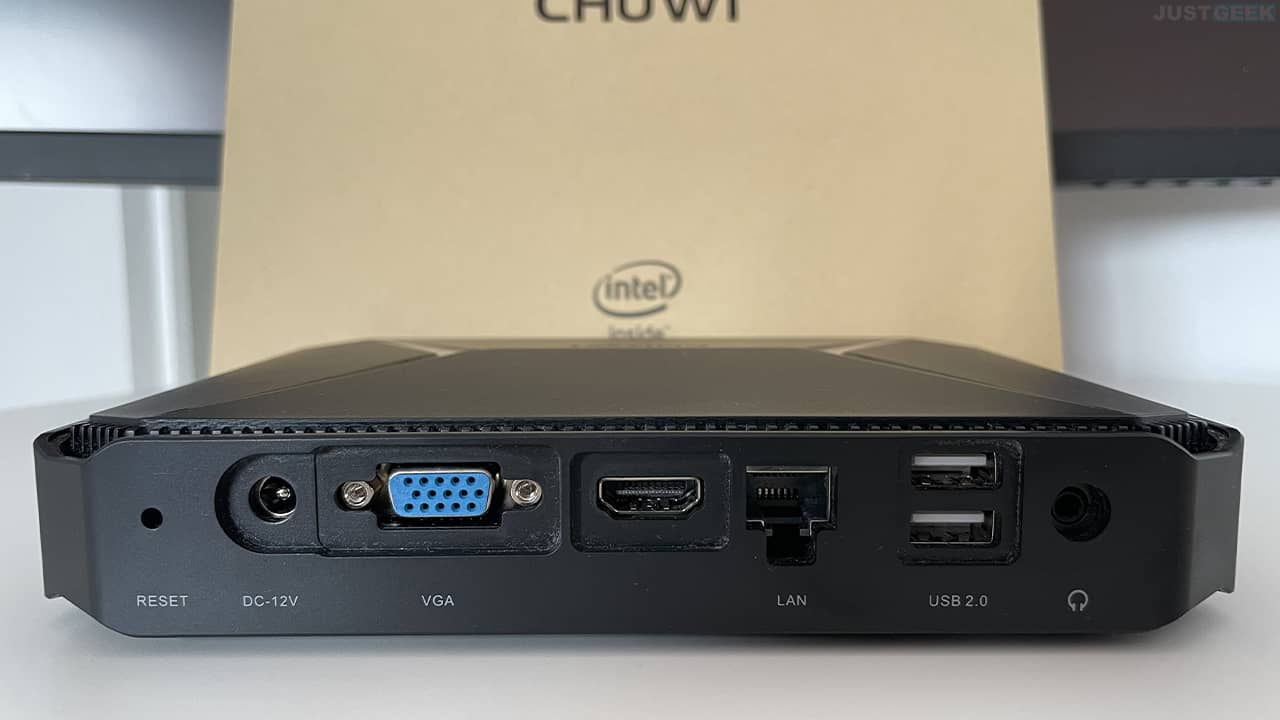 Chuwi Herobox Pro (face arrière)