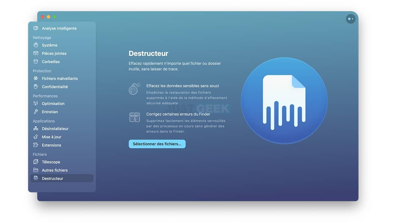 Effacer rapidement des fichiers et dossiers sans laisser de trace sur votre Mac
