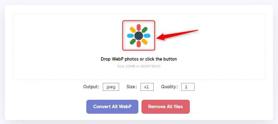 Convertir WebP en JPG/PNG