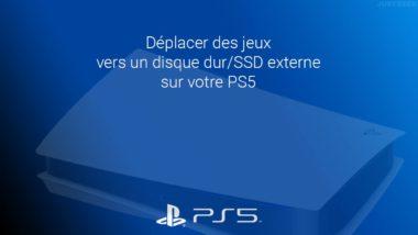 Déplacer des jeux PS4/PS5 vers le stockage étendu USB