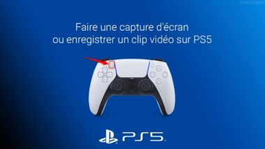 Faire une capture d'écran ou enregistrer un clip vidéo sur PS5
