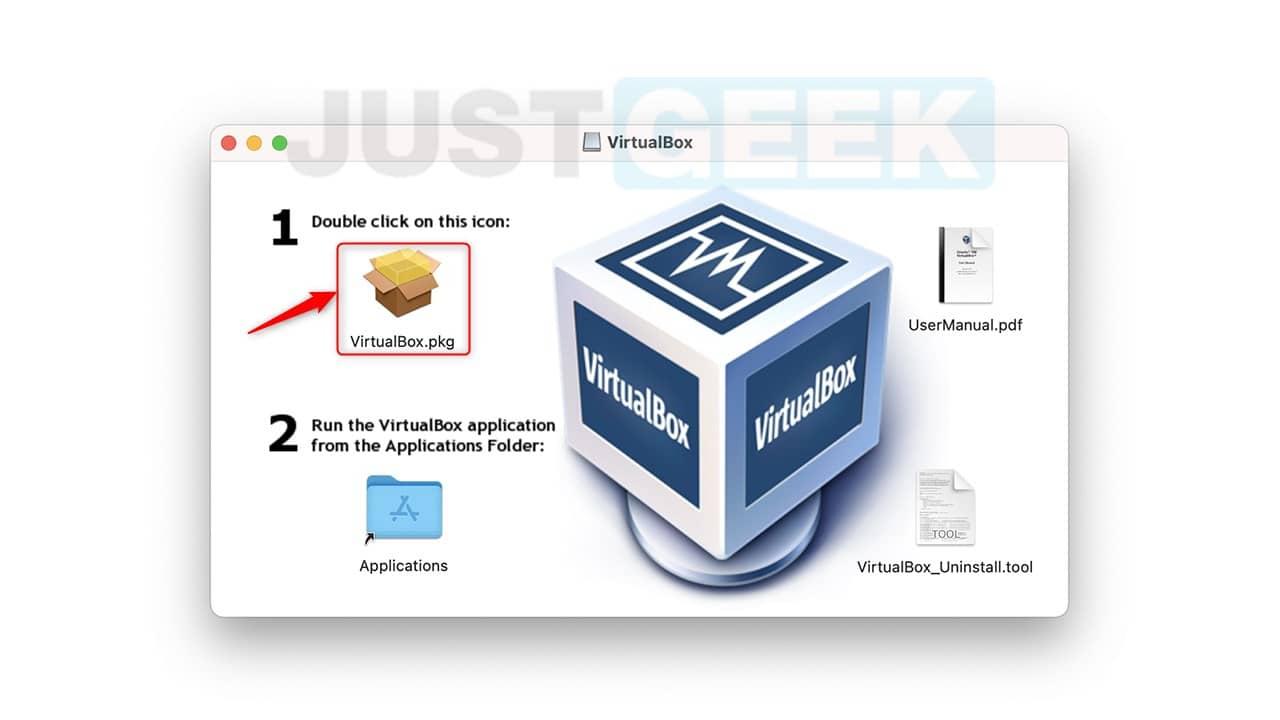 Installation de VirtualBox sur Mac