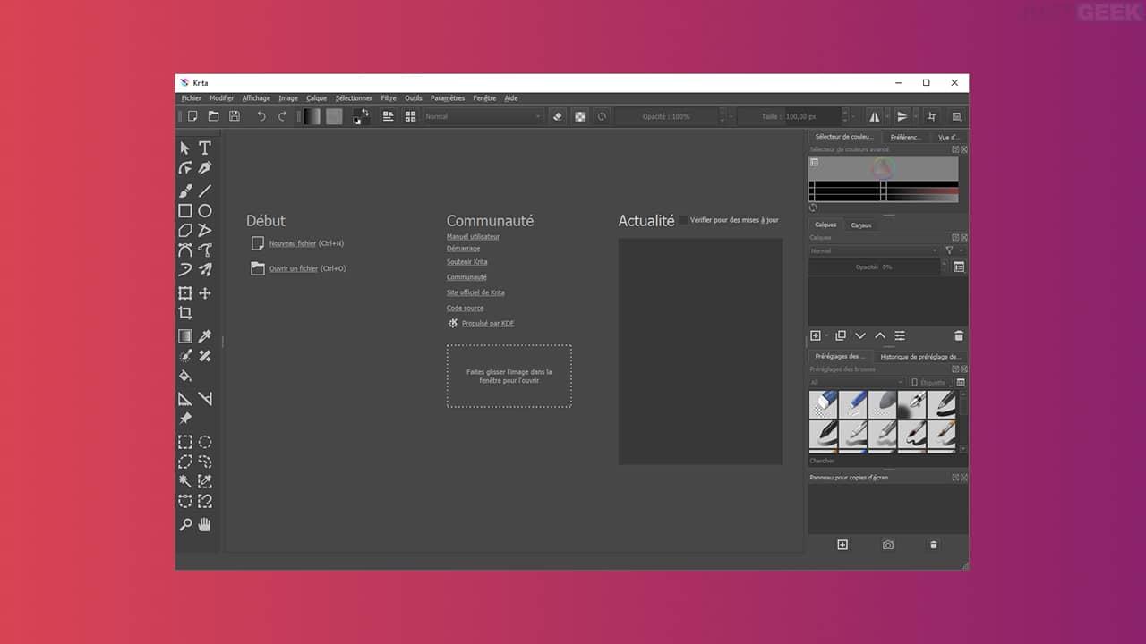 Krita : un logiciel de dessin et peinture numérique gratuit et open source