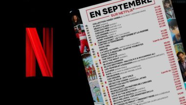 Catalogue Netflix Septembre 2021