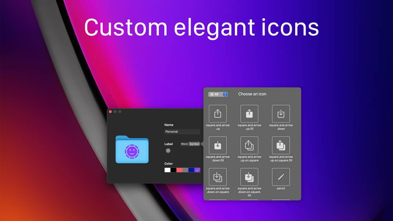 Personnaliser l'icône d'un dossier sous macOS avec Tager