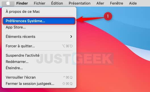 Préférences système macOS