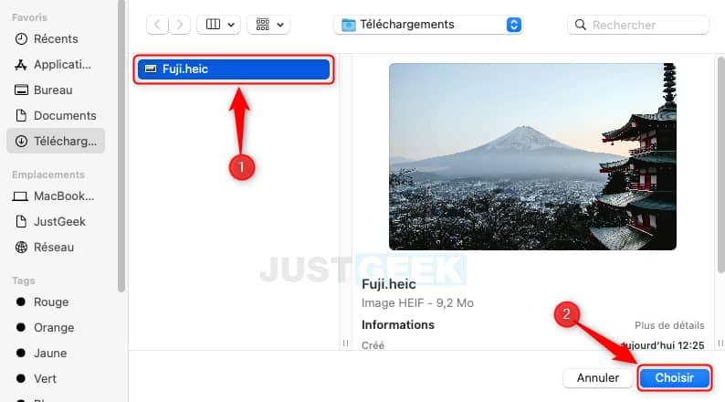 Sélectionner le fond d'écran dynamique sur votre Mac