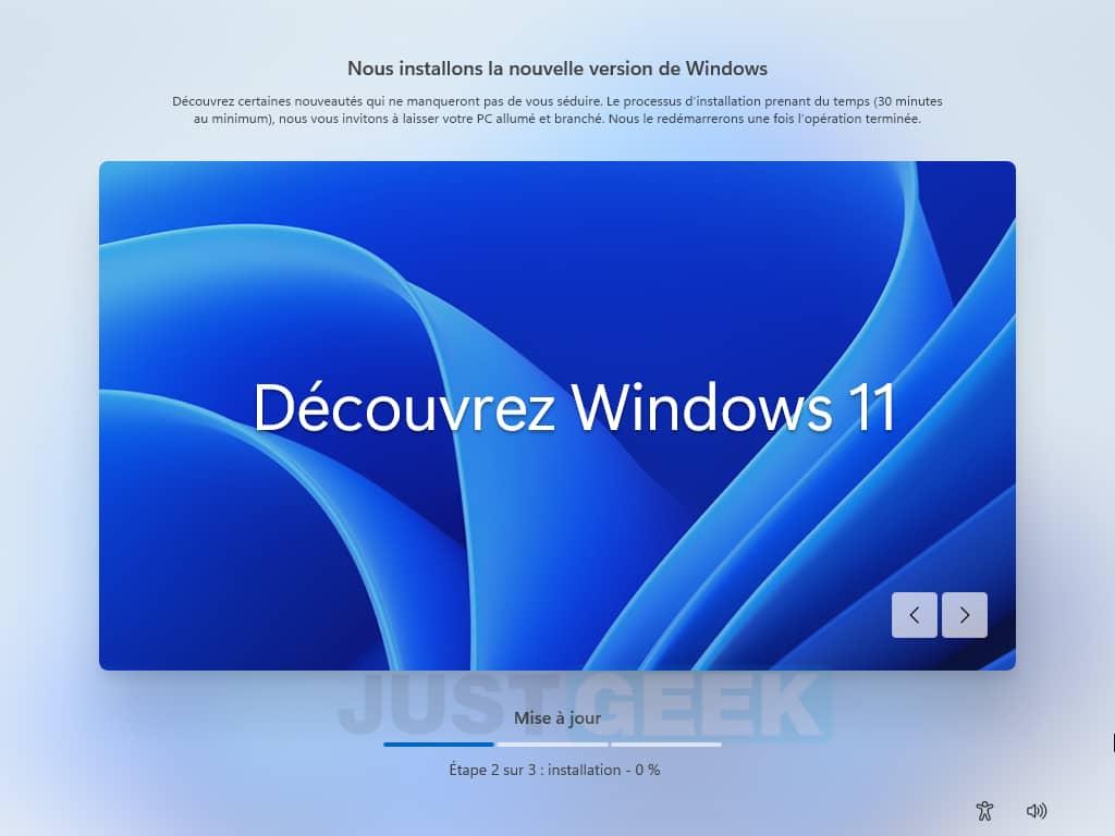 Configuration de Windows 11 terminée