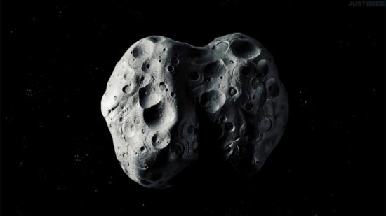 Photo d'un astéroïde