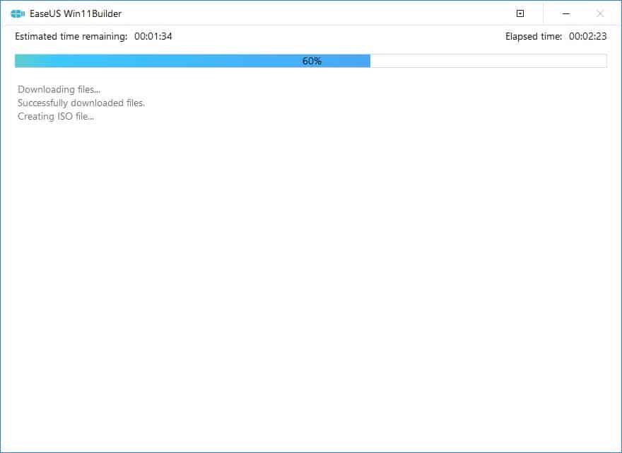 Création de la clé USB bootable Windows 11 avec EaseUS Win11Builder