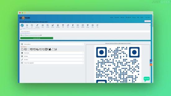 Générer un QR code gratuit avec QRTiger
