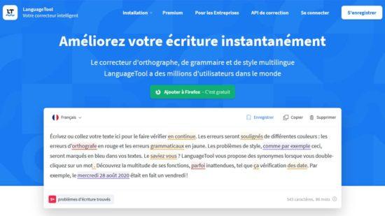 LanguageTool : un correcteur d'orthographe intelligent et gratuit