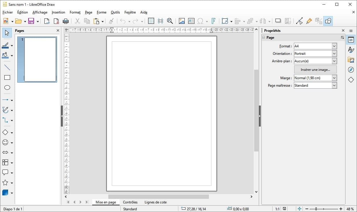 LibreOffice Draw : dessin vectoriel