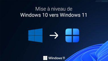 Mettre à jour Windows 10 vers Windows 11