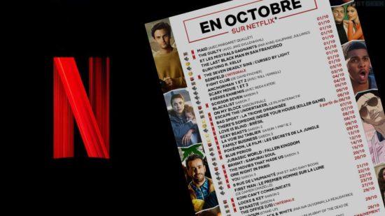 Netflix Octobre 2021 : découvrez le programme !
