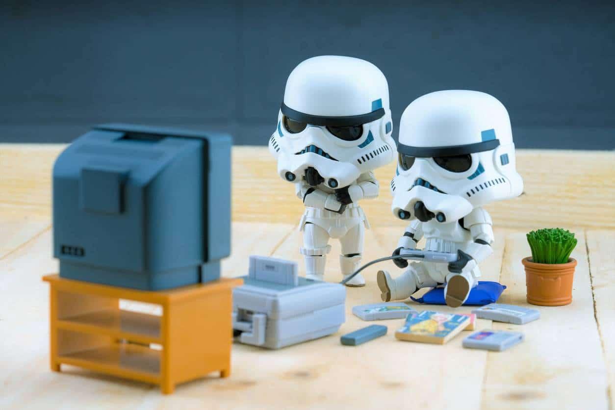 Accessoires Star Wars : miniature Stormtrooper