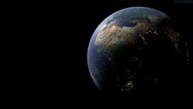 Planète Terre vue de l'espace