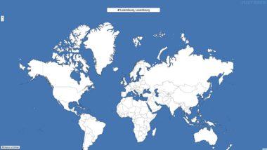 Quizzity : quizz géographique