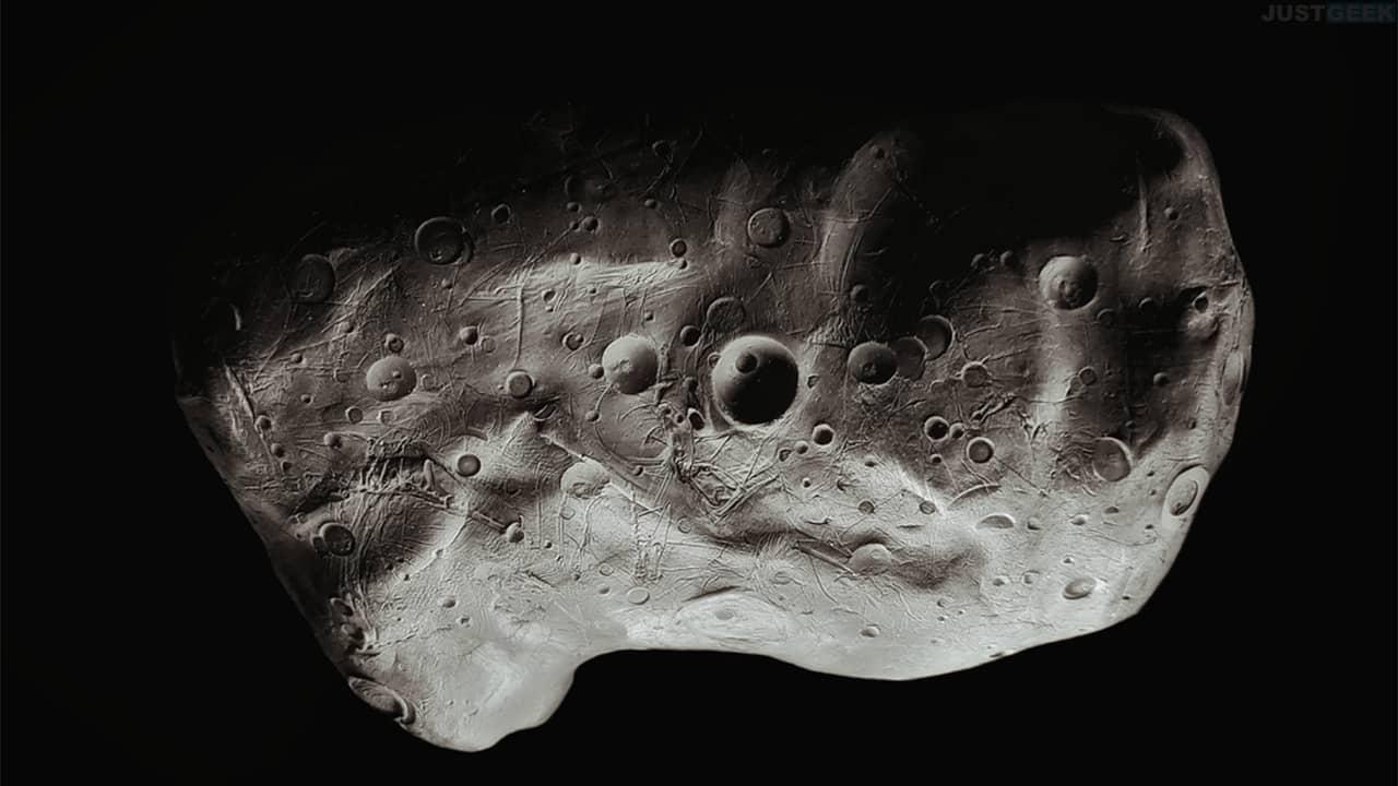 Surface d'un astéroïde