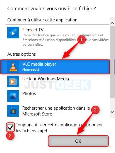 Toujours utiliser cette application pour ouvrir les fichiers dans Windows 11