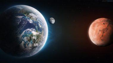 Temps de voyage entre Terre et Mars